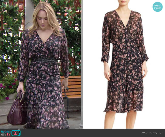 IRO Temper Dress worn by Summer Newman (Hunter King) on The Young & the Restless