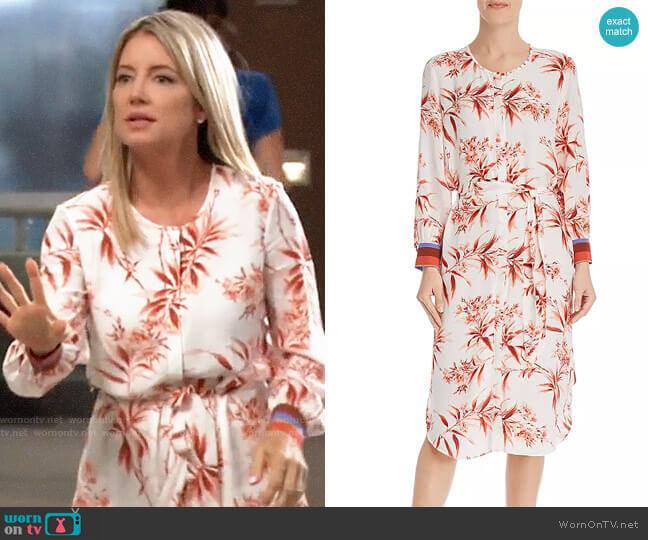 Joie Jeanee Dress worn by Nina Reeves (Cynthia Watros) on General Hospital