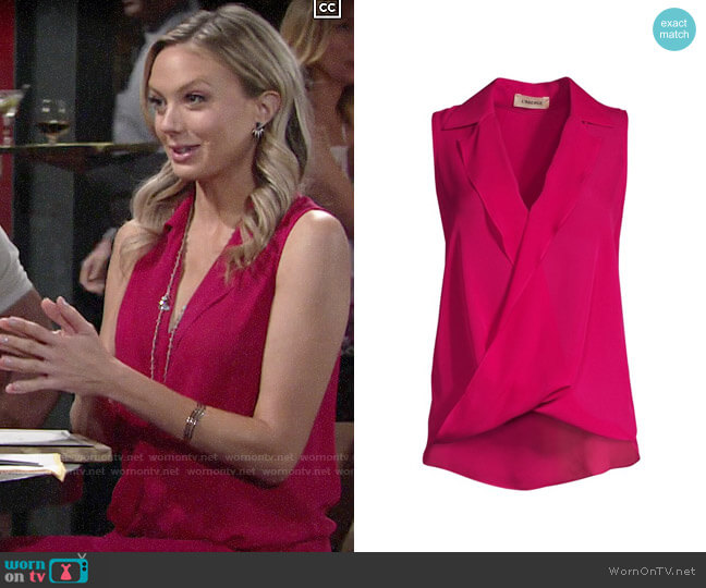 L'Agence Freja Top worn by Abby Newman (Melissa Ordway) on The Young & the Restless