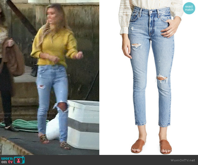 Levis 501 Skinny Can't Touch This Jeans worn by Audrina Patridge  on The Hills New Beginnings