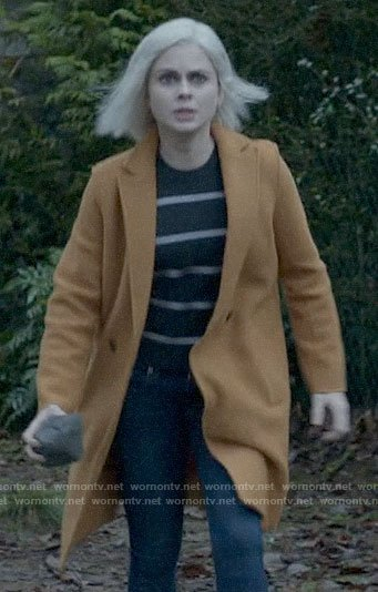 Liv's mustard coat on iZombie