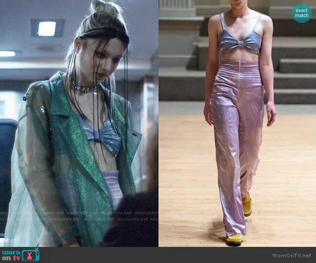 Lou Dallas Spring 2019 Collection Outfit worn by Jules Vaughn (Hunter Schafer) on Euphoria