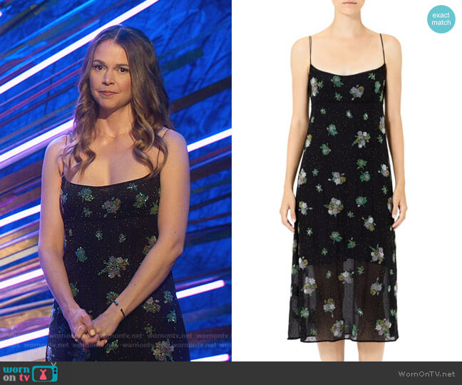 Redux Grunge Floral Chiffon Silk Midi Slip Dress by Marc Jacobs worn by Liza Miller (Sutton Foster) on Younger