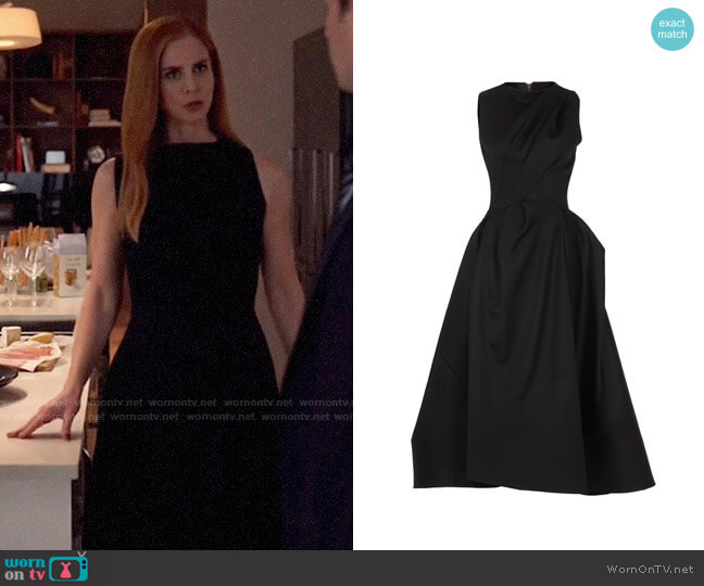 Maticevski Highness Midi Dress worn by Donna Paulsen (Sarah Rafferty) on Suits