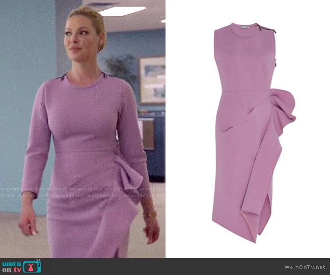 Maticevski Ruffled Dress worn by Samantha Wheeler (Katherine Heigl) on Suits