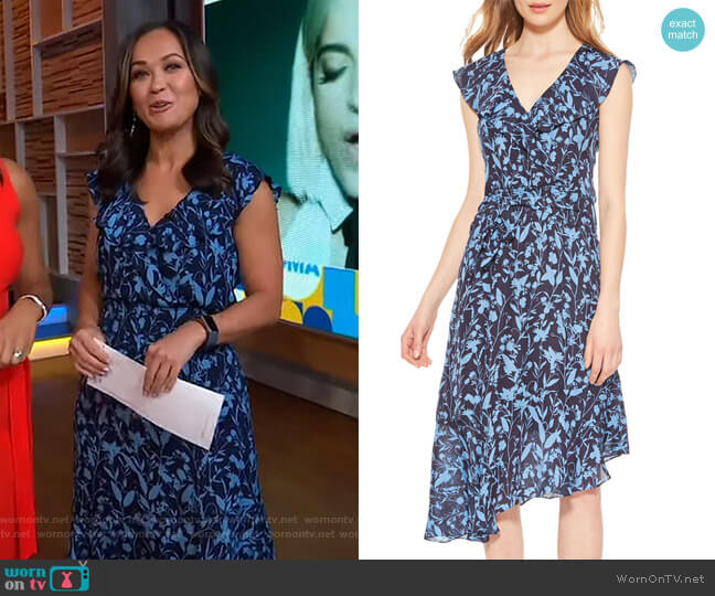 Brynlee Dress by Parker worn by Eva Pilgrim  on Good Morning America