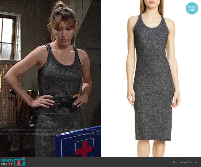 Rag & Bone Clara Dress worn by Chloe Mitchell (Elizabeth Hendrickson) on The Young & the Restless