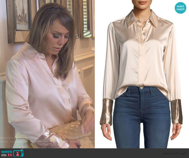 Talia by Ramy Brook worn by Kelly Dodd  on The Real Housewives of Orange County