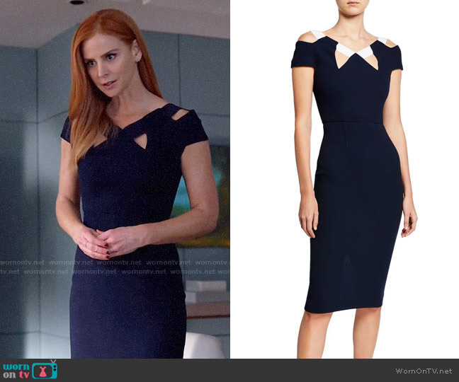 Roland Mouret Atkinson Dress worn by Donna Paulsen (Sarah Rafferty) on Suits