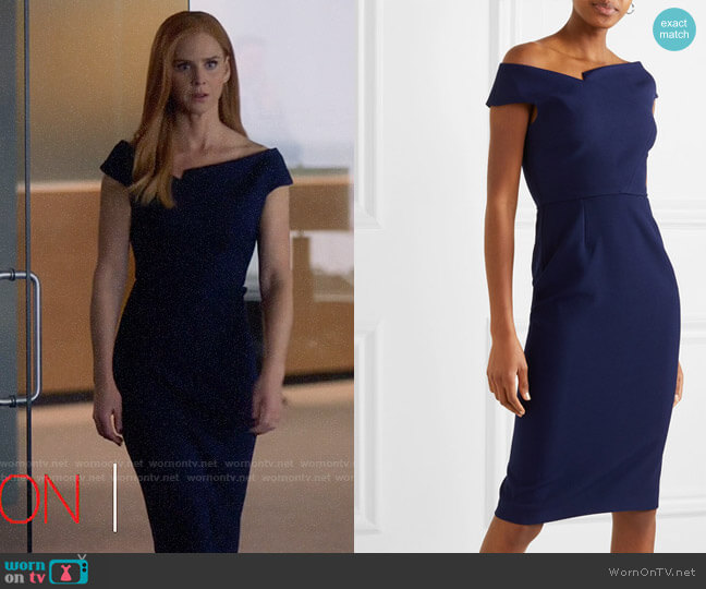 Roland Mouret Darley Dress worn by Donna Paulsen (Sarah Rafferty) on Suits