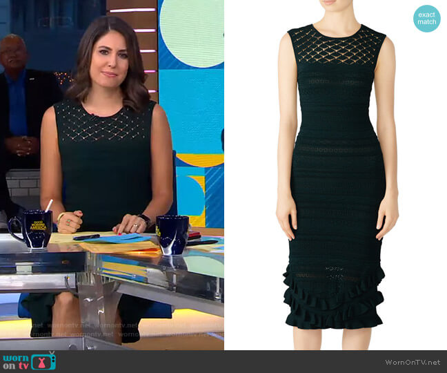 Skye Dress by Sachin & Babi worn by Cecilia Vega  on Good Morning America
