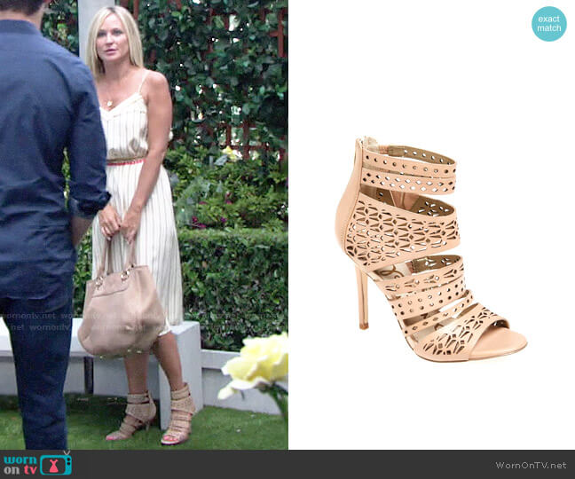 Sam Edelman Alysia Sandals worn by Sharon Collins (Sharon Case) on The Young & the Restless