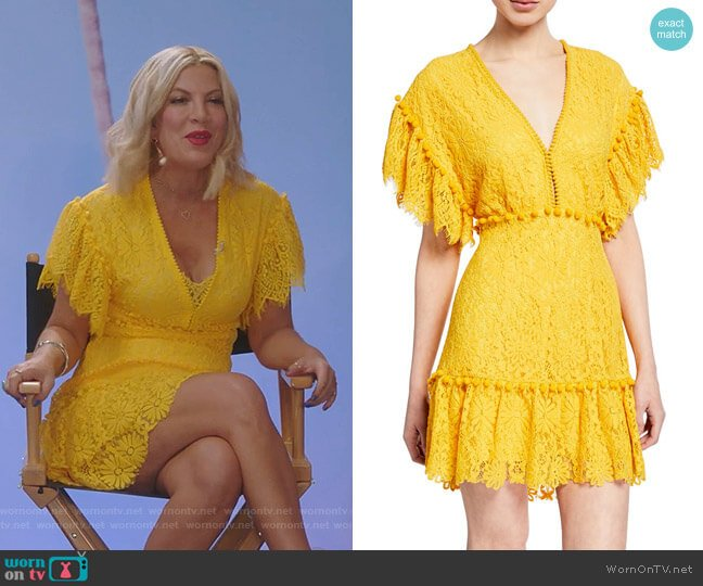 Nanatte Mini Dress by Saylor worn by Tori Spelling  on BH90210