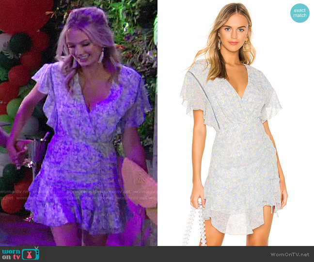 Saylor Marina Dress worn by Abby Newman (Melissa Ordway) on The Young & the Restless