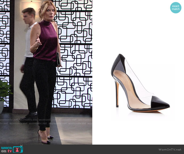 Schutz Cendi Pumps worn by Phyllis Summers (Michelle Stafford) on The Young & the Restless