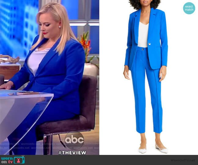 Ariee Single Breasted Blazer and Ariett Pants by Ted Baker worn by Meghan McCain  on The View