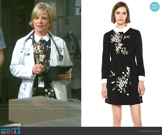 Ted Baker Ellan Dress worn by Kayla Brady (Mary Beth Evans) on Days of our Lives