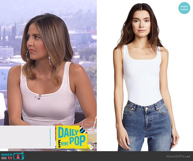 Tubular Len Top by Theory worn by Erin Lim  on E! News
