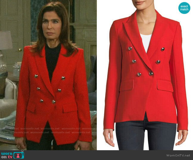 Veronica Beard Miller Jacket worn by Hope Williams (Kristian Alfonso) on Days of our Lives