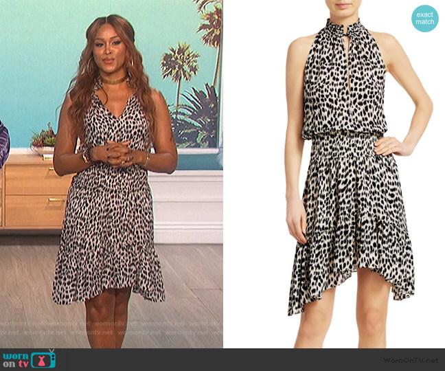 Cody Leopard Dress by A.L.C. worn by Eve  on The Talk