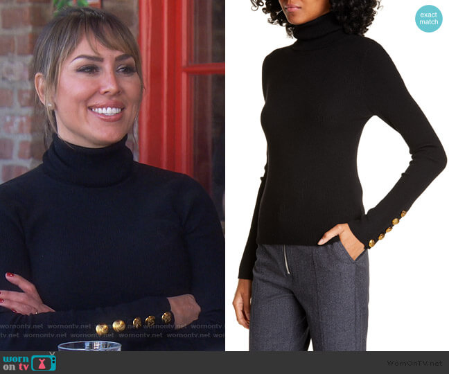 Desi Sweater by A.L.C. worn by Kelly Dodd  on The Real Housewives of Orange County