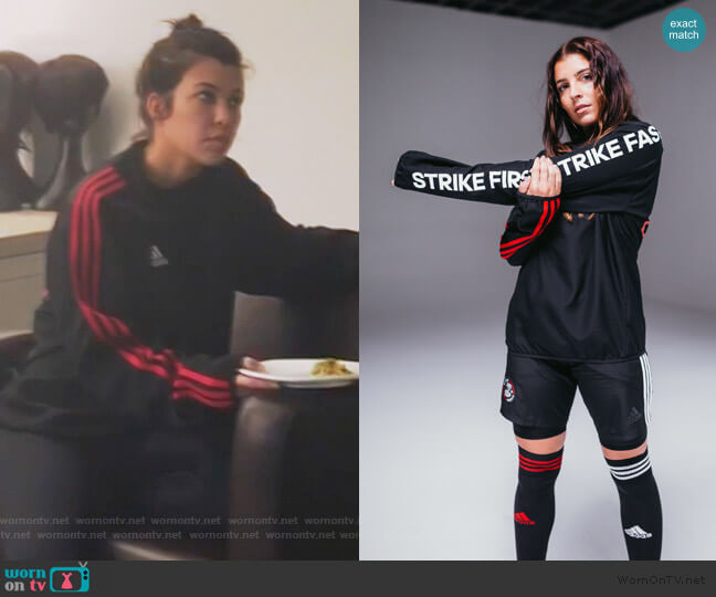 First Strike Jacket by Kith x Adidas worn by Khloe Kardashian  on Keeping Up with the Kardashians