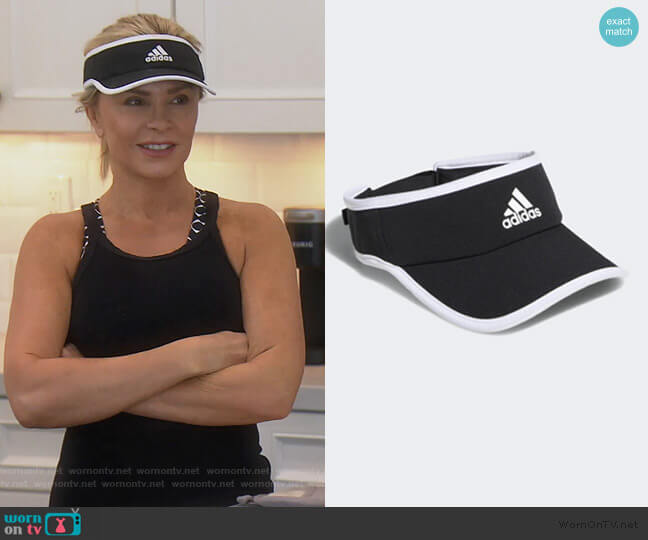 Superlite Visor by Adidas worn by Tamra Judge  on The Real Housewives of Orange County