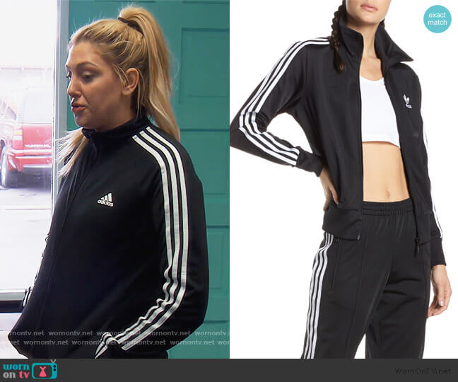 SST Track Jacket by Adidas worn by Gina Kirschenheiter  on The Real Housewives of Orange County