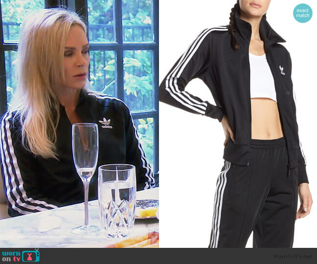 Firebird Recycled Tricot Track Jacket Adidas worn by Tamra Judge  on The Real Housewives of Orange County