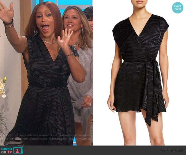 Essie Dress by Alice + Olivia worn by Eve  on The Talk