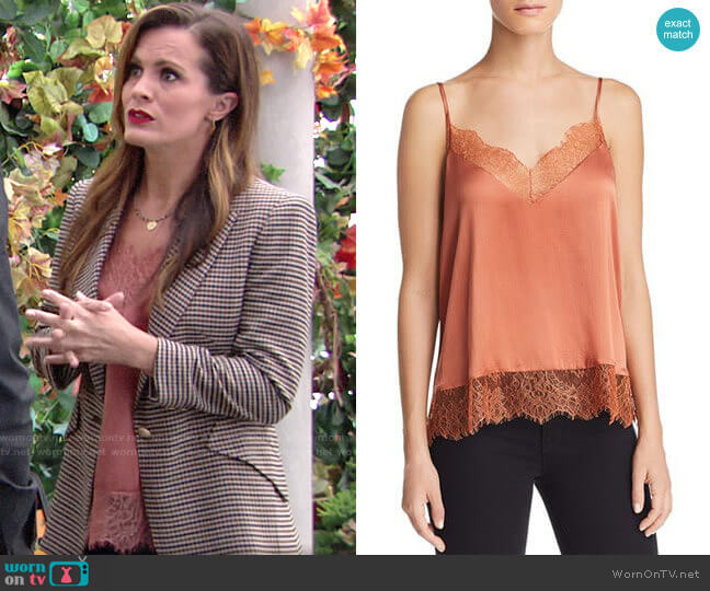 Cami NYC Brooklyn Top worn by Chelsea Lawson (Melissa Claire Egan) on The Young & the Restless