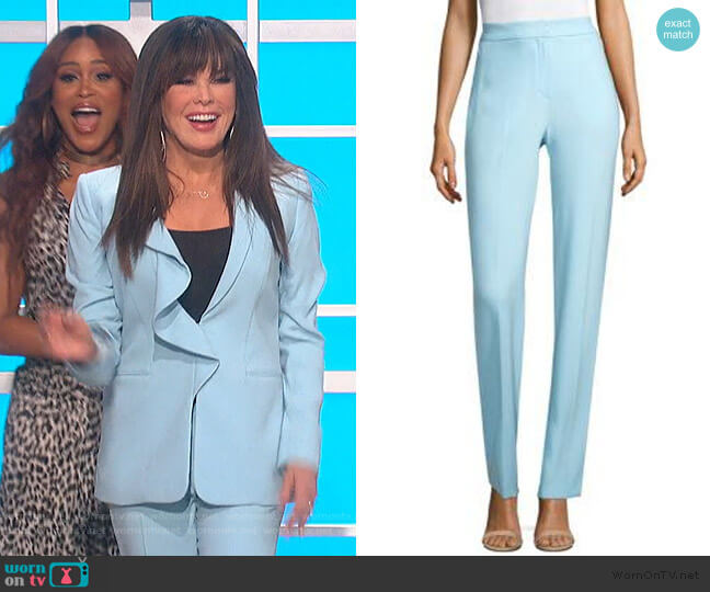 Leena Pants by Elie Tahari worn by Marie Osmond  on The Talk