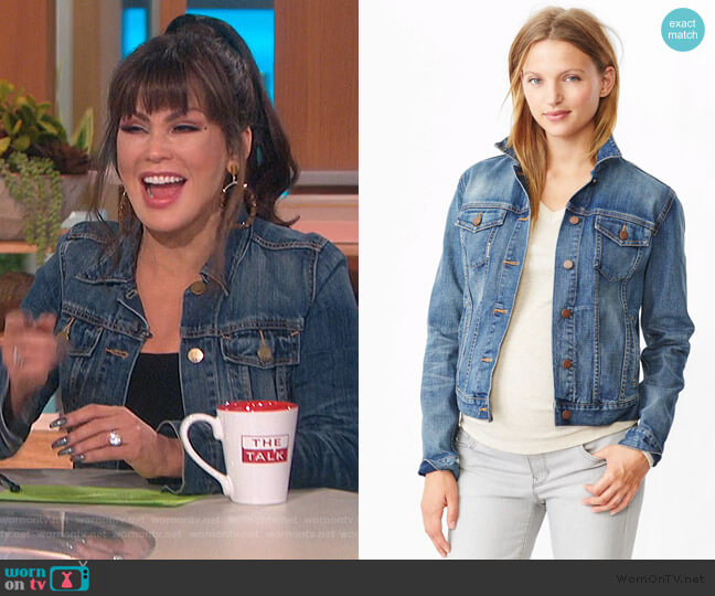 1969 Heritage Denim Jacket by Gap worn by Marie Osmond  on The Talk