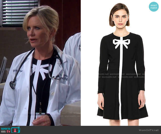 Gilleen Dress by Ted Baker worn by Kayla Brady (Mary Beth Evans) on Days of our Lives