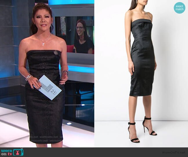 Sloan Dress by Haney worn by Julie Chen  on Big Brother