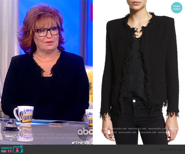 Shavani Jacket by IRO worn by Joy Behar  on The View