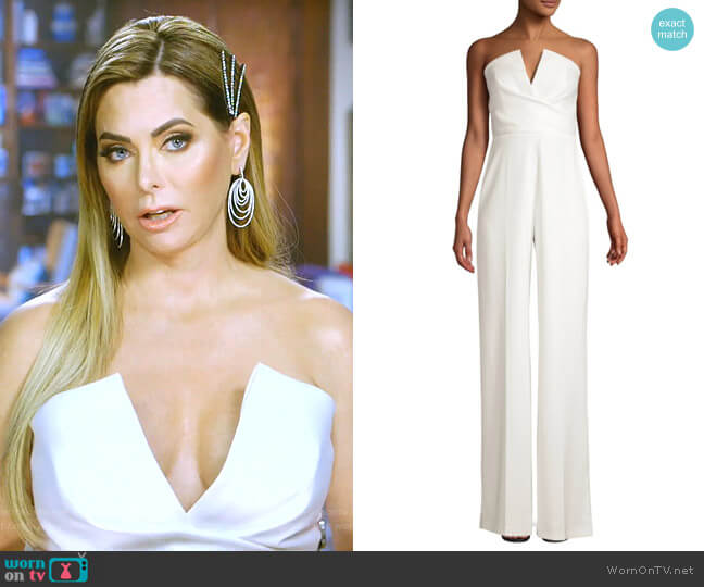 Dawson Jumpsuit by Jay Godfrey worn by D'Andra Simmons  on The Real Housewives of Dallas