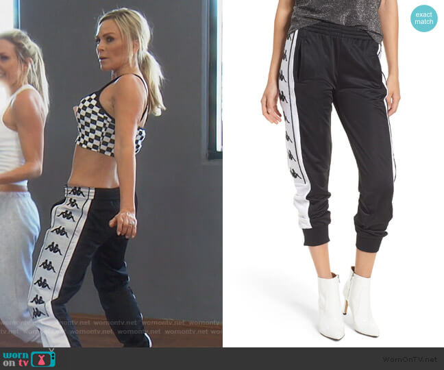 222 Banda 10 Arsis Pants by Kappa worn by Tamra Judge  on The Real Housewives of Orange County