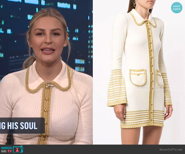 Kashmir Mini Dress by Alice McCall worn by Morgan Stewart  on E! News