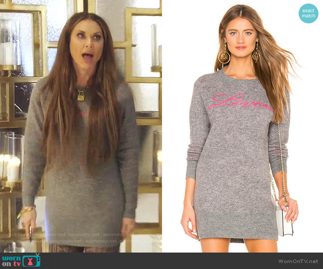 For Lovers Sweater Dress by Lovers + Friends worn by LeeAnne Locken  on The Real Housewives of Dallas