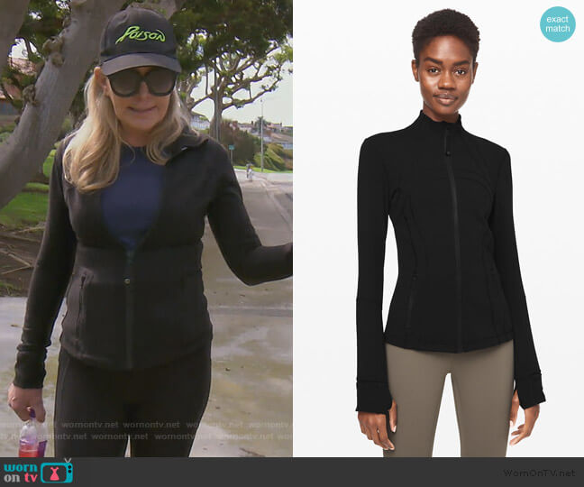 Define Jacket by Lululemon worn by Shannon Beador  on The Real Housewives of Orange County