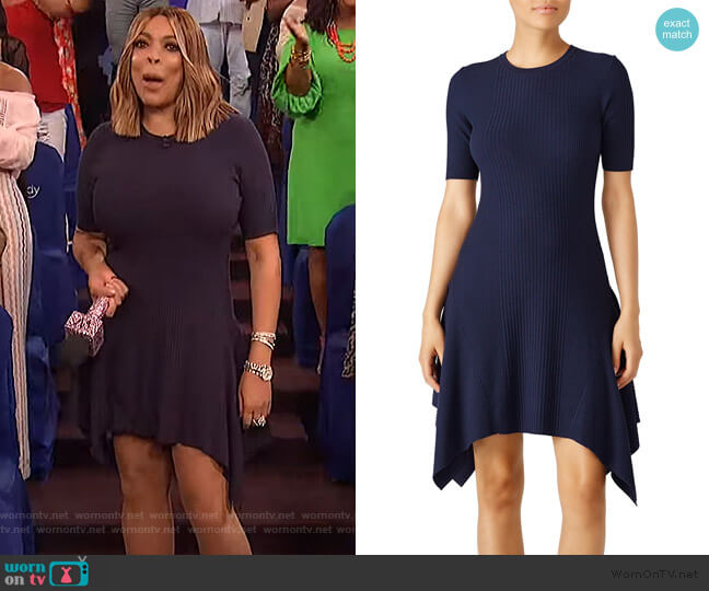Eclipse Delta Dress by Opening Ceremony worn by Wendy Williams  on The Wendy Williams Show