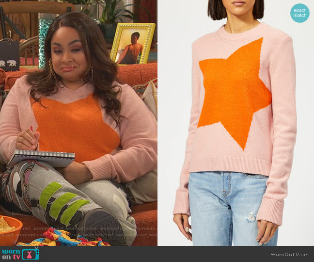 Star Jumper by PS Paul Smith worn by Raven Baxter (Raven-Symoné) on Ravens Home