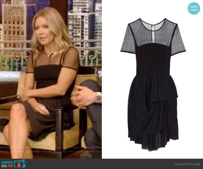 Mesh Knit Dress by Proenza Schouler worn by Kelly Ripa  on Live with Kelly & Ryan