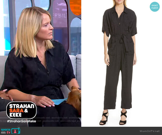 Maxfield Jumpsuit by Rachel Comey worn by Sara Haines  on Good Morning America