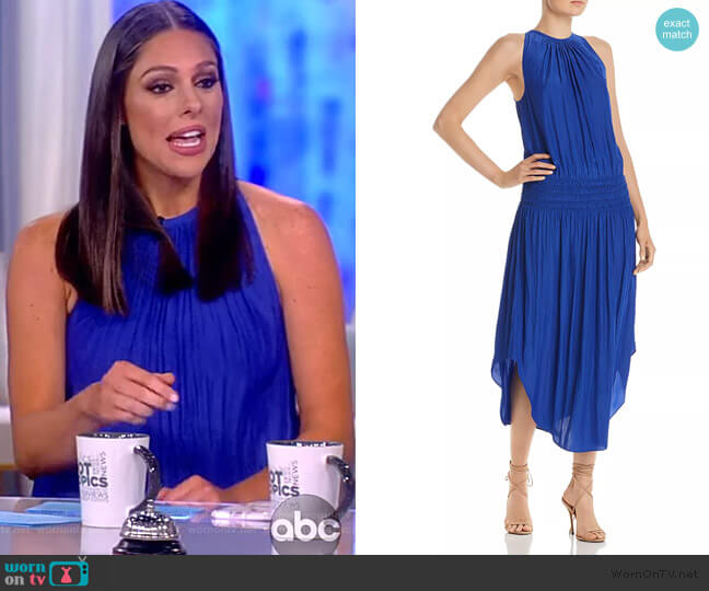 Audrey Midi Dress by Ramy Brook worn by Abby Huntsman  on The View
