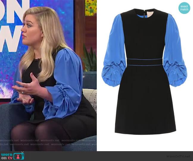 Cecia minidress by Roksanda worn by Kelly Clarkson  on The Kelly Clarkson Show