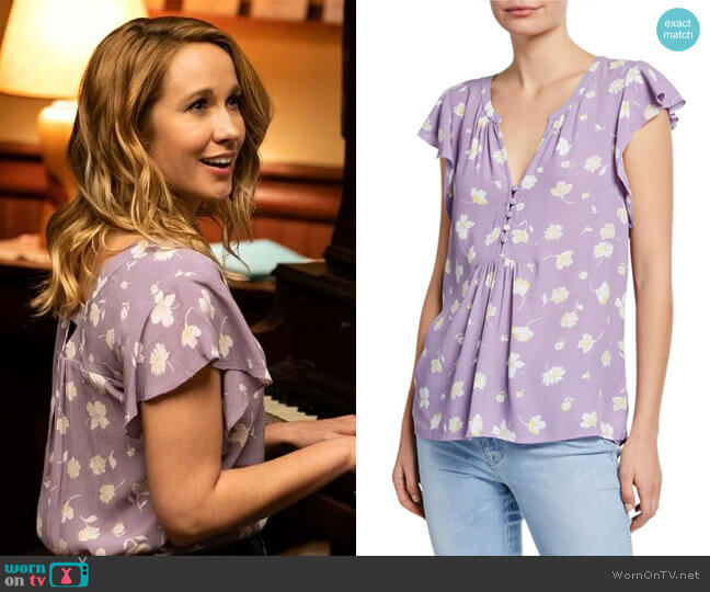 Sanctuary Paloma Top in Hello Spring worn by Ginny (Anna Camp) on Perfect Harmony