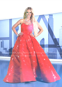 Stephanie's intro scene dress on The Real Housewives of Dallas
