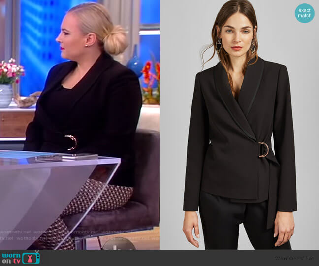 Adaar Blazer by Ted Baker worn by Meghan McCain  on The View